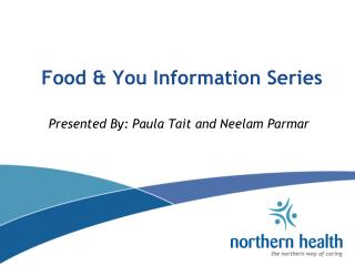 Food & You Information Series