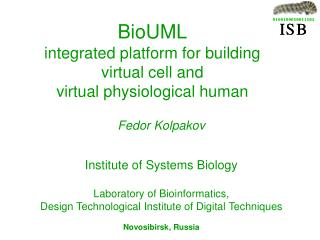 BioUML  integrated platform for building  virtual cell and  virtual physiological human
