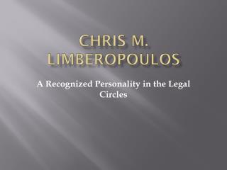 Chris M. Limberopoulos