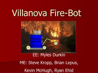 Villanova Fire-Bot