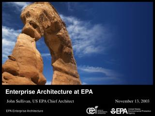 Enterprise Architecture at EPA