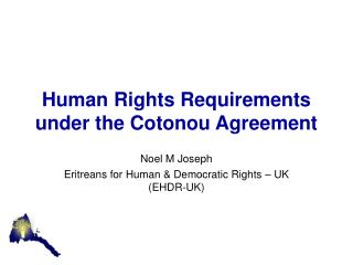 Human Rights Requirements under the Cotonou Agreement
