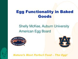 Egg Functionality in Baked Goods