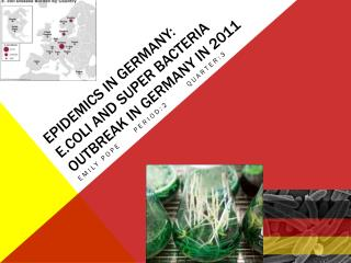 Epidemics in Germany: E.coli and super bacteria outbreak in Germany in 2011