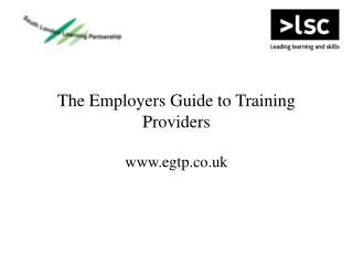 The Employers Guide to Training Providers