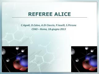 REFEREE ALICE