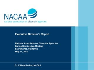 S. William Becker, NACAA
