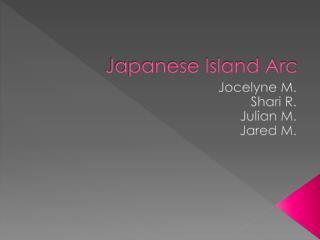 Japanese Island Arc