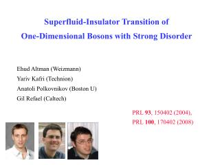 Superfluid-Insulator Transition of  One-Dimensional Bosons with Strong Disorder