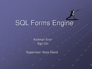 SQL Forms Engine