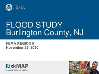 FLOOD STUDY Burlington County, NJ