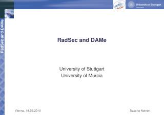 RadSec and DAMe
