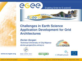 Challenges in Earth Science Application Development for Grid Architectures