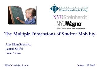 The Multiple Dimensions of Student Mobility