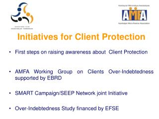 Initiatives for Client Protection