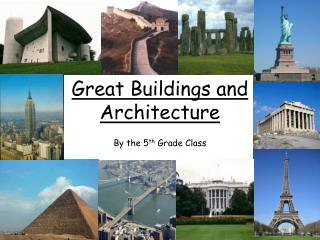 Great Buildings and Architecture