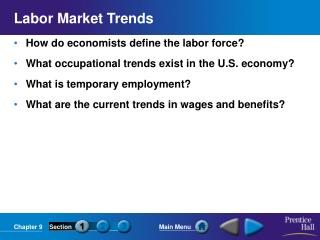 Labor Market Trends