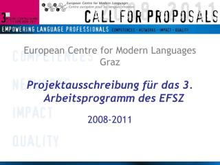 European Centre for Modern Languages Graz