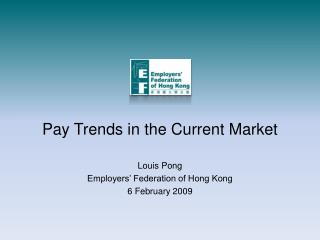 Pay Trends in the Current Market