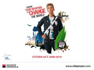 CITIZEN ACT 2009-2010
