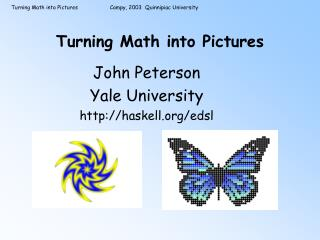 Turning Math into Pictures