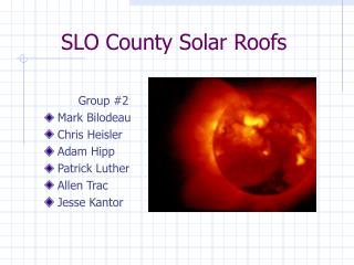 SLO County Solar Roofs