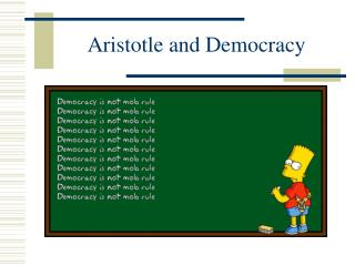 Aristotle and Democracy
