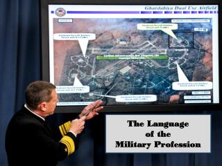 The Language of the Military Profession