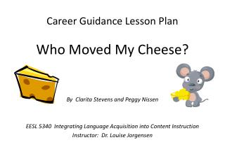 Career Guidance Lesson Plan