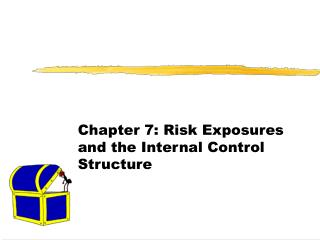 Chapter 7: Risk Exposures and the Internal Control Structure