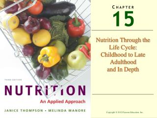 Nutrition Through the Life Cycle: Childhood to Late Adulthood and In Depth