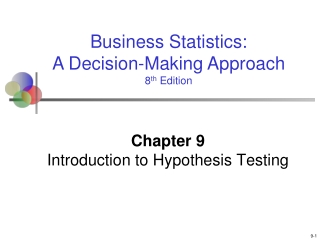 T tests: confidence intervals and hypothesis tests