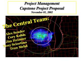Project Management Capstone Project Proposal November 01, 2002