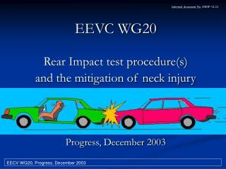 EEVC WG20 Rear Impact test procedure(s)  and the mitigation of neck injury