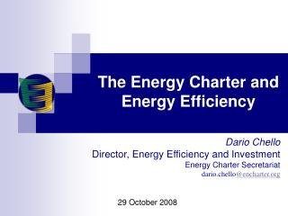 The Energy Charter and Energy Efficiency