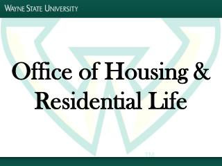 Office of Housing & Residential Life
