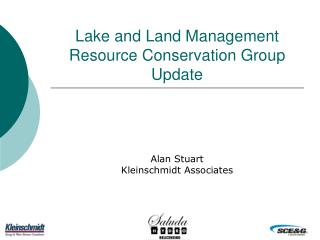 Lake and Land Management Resource Conservation Group Update