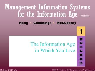 The Information Age in Which You Live