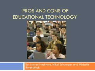 Pros and Cons of Educational Technology
