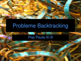 Probleme Backtracking