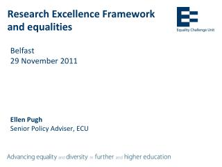 Research Excellence Framework and equalities