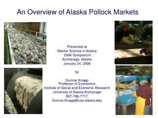 An Overview of Alaska Pollock Markets