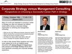 Dennis Rheault,  Partner Bridge Strategy Group