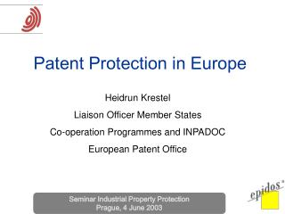 Patent Protection in Europe