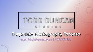 Corporate Photography Toronto