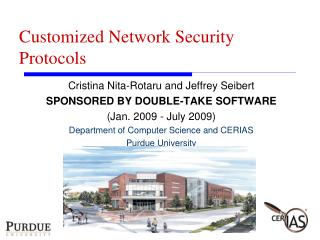 Customized Network Security Protocols