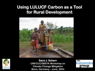 Using LULUCF Carbon as a Tool  for Rural Development