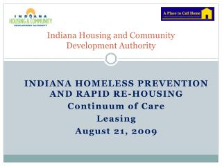Indiana Housing and Community  Development Authority