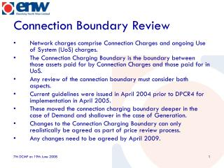 Connection Boundary Review