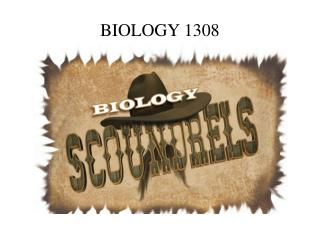 BIOLOGY 1308